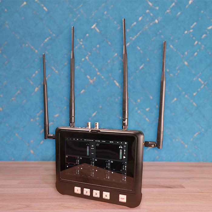 MiNE R8 4G LTE Bonding Videomischer & Encoder